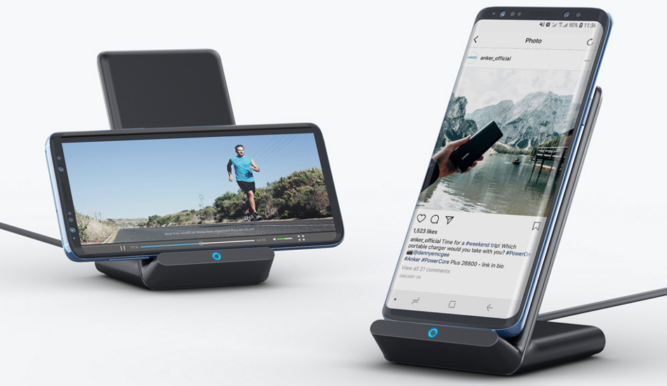 Anker launches Qi-certified 10W PowerWave charging stand for Rs 1,999