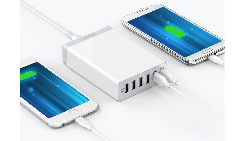 Anker launches 60W super compact 6 Port USB Wall charger for Rs 3,499