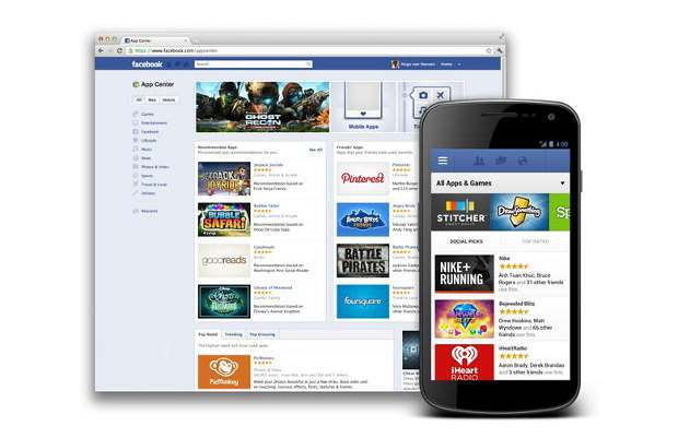 Facebook App Centre now available in India