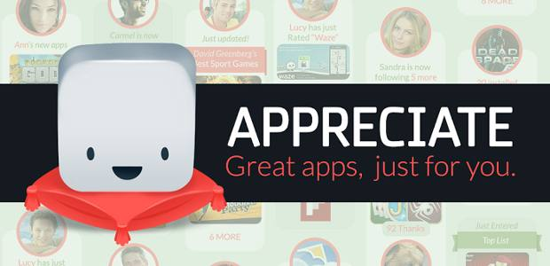 Appreciate app launched for Android devices