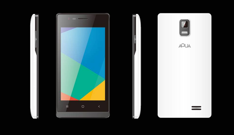 Aqua 3G 512 with Android OS, 4 inch display launched at Rs 2,699