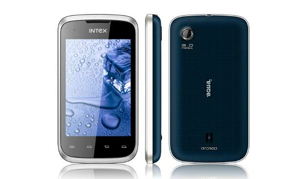 Intex launches Android smartphone for Rs 5,490
