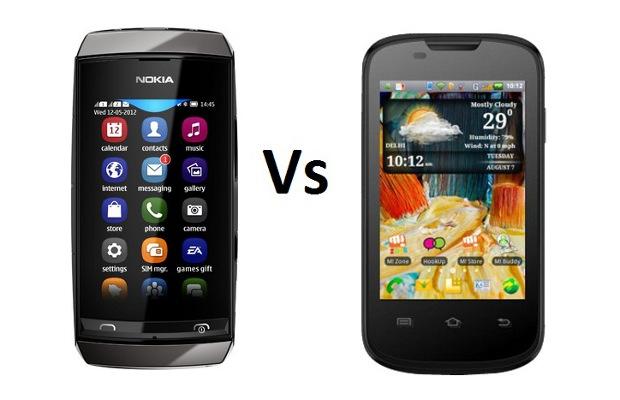 Nokia Asha 305 Vs Micromax Ninja 3 A57