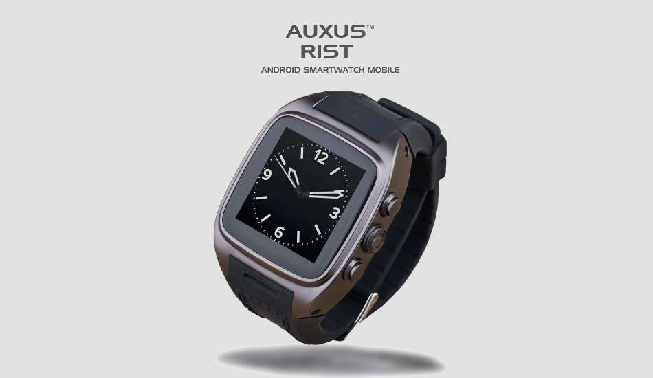 iBerry launches Auxus RIST Smartwatch with voice calling, camera for Rs 9,990