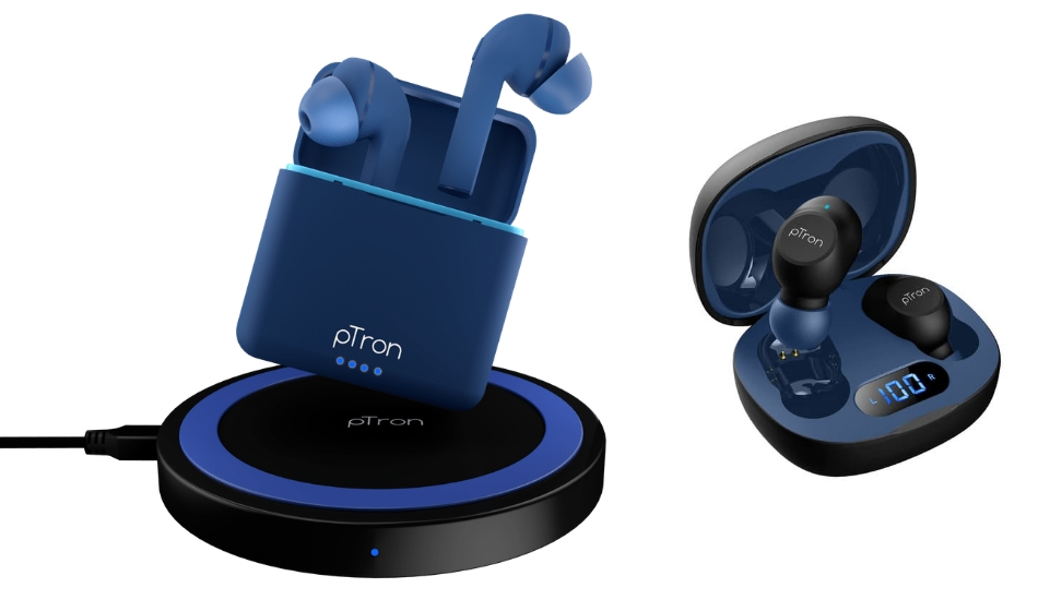 pTron launches Bassbuds Vista with Wireless Charging