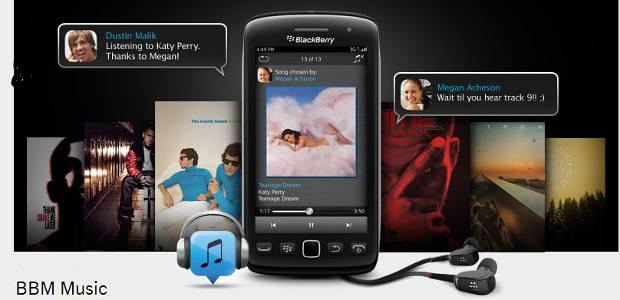 BlackBerry to shut BBM Music