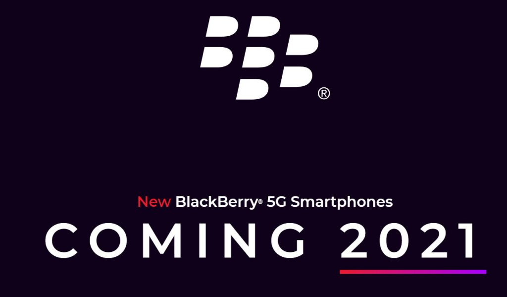 BlackBerry 5G smartphones to hit market next year