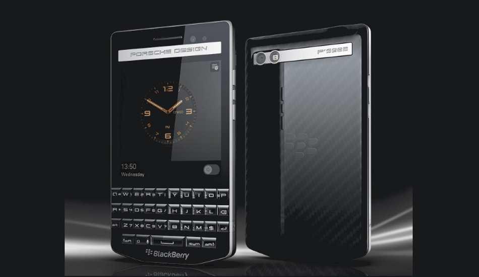 In Pics: BlackBerry Porsche Design P'9983 that costs Rs 99,990