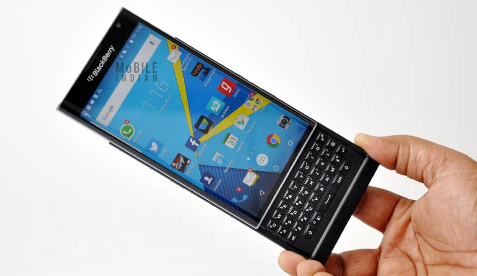 BlackBerry Priv gets Android Marshmallow update