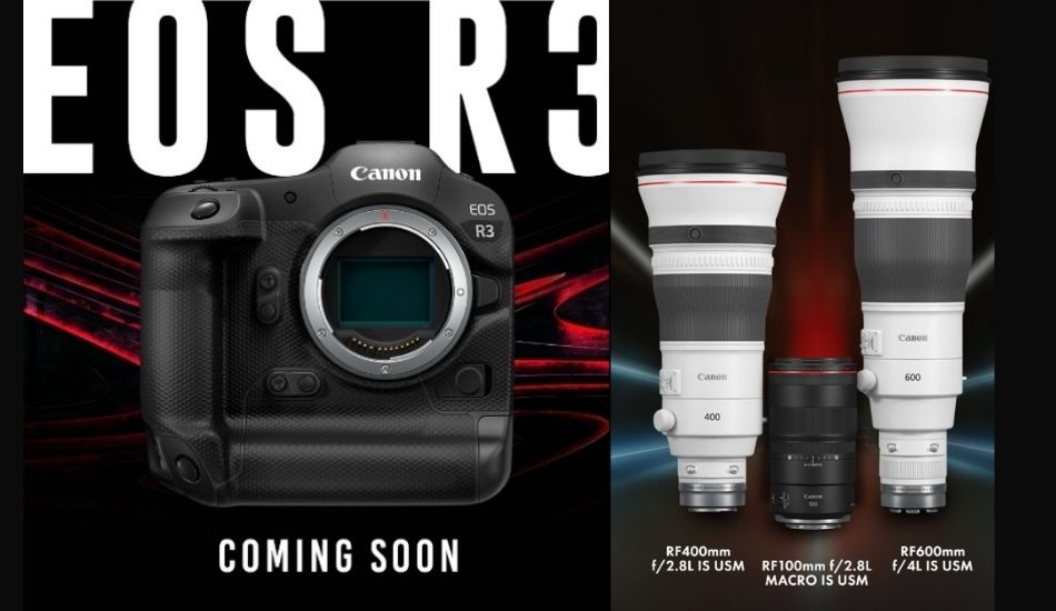 Canon announces development of the EOS R3 Full-frame Mirrorless Camera, launches three new RF lenses