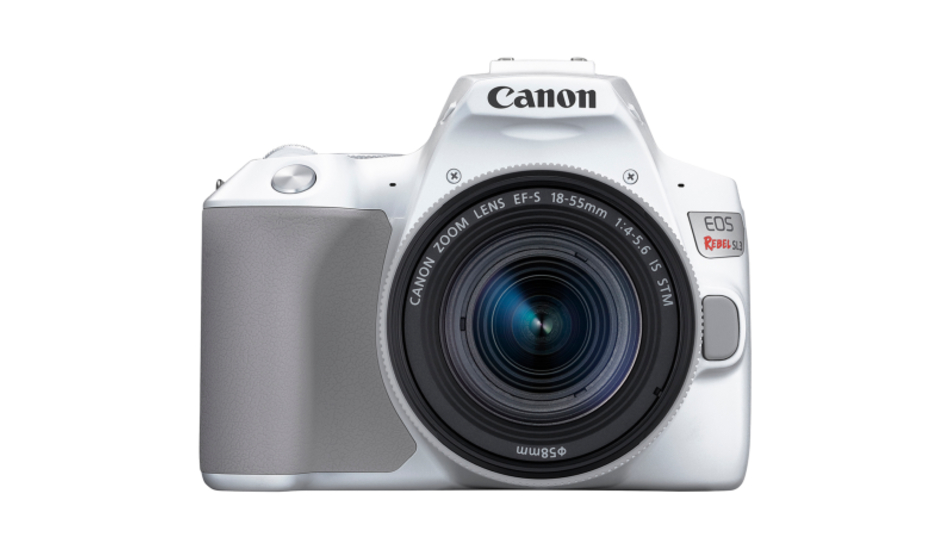Canon EOS Rebel SL3 DSLR camera launched with 4K video support