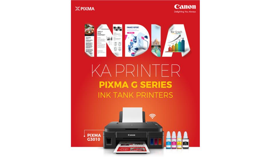 Canon India announces 'India Ka Printer' campaign