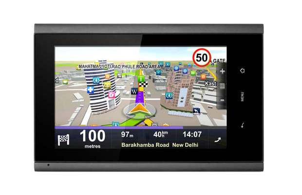Map My India Car Pad 5 navigation tab now @ Rs 17,990
