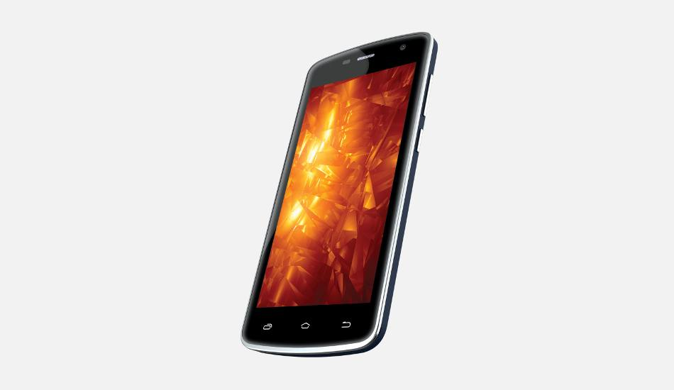 Intex Cloud Fame with 4G, Android Marshmallow launch at Rs 3,999
