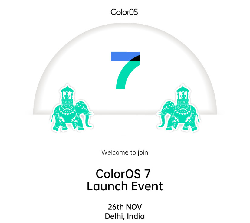 Oppo to launch ColorOS 7 on November 26 in India