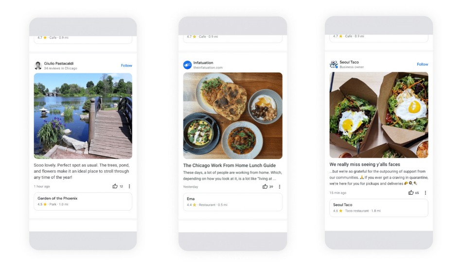 Google Maps introduces Community Feed for better local recommendations