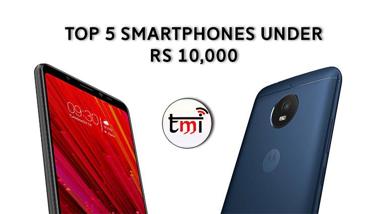 Top 5 Smartphones under Rs 10,000: September 2017