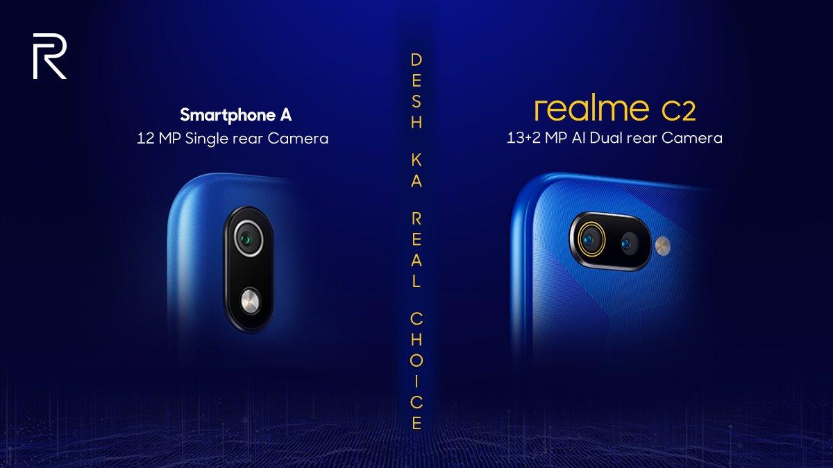 Realme CEO takes a jab on Xiaomi