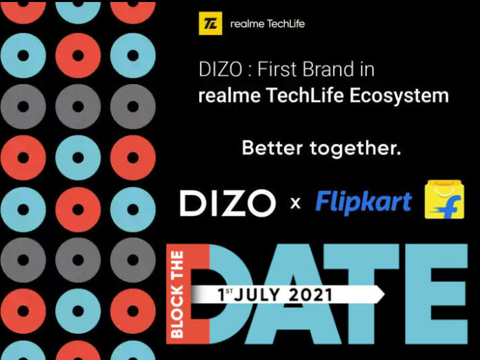 Realme to launch its first Dizo product on July 1