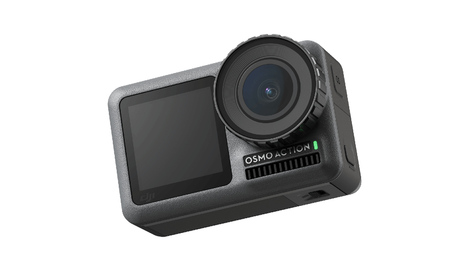 DJI Osmo Action Camera with dual-display announced to rival Go Pro