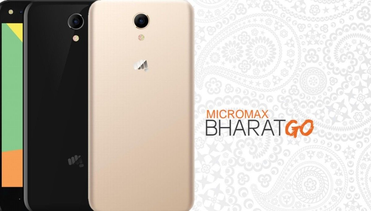 Micromax Bharat Go with Android Oreo (Go Edition) key specs revealed