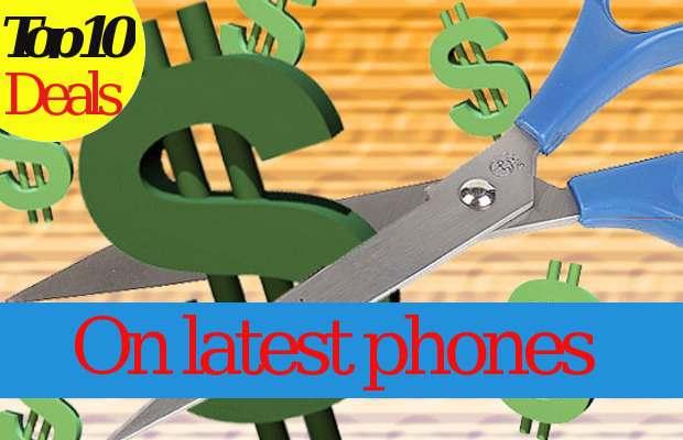Top 5 deals on popular smartphones