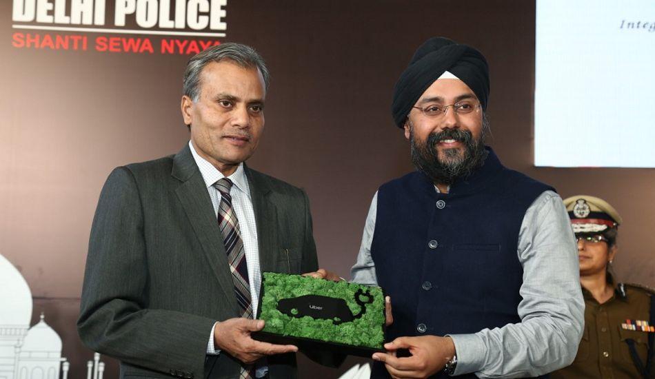 Delhi Police and Uber partner for safety of passengers