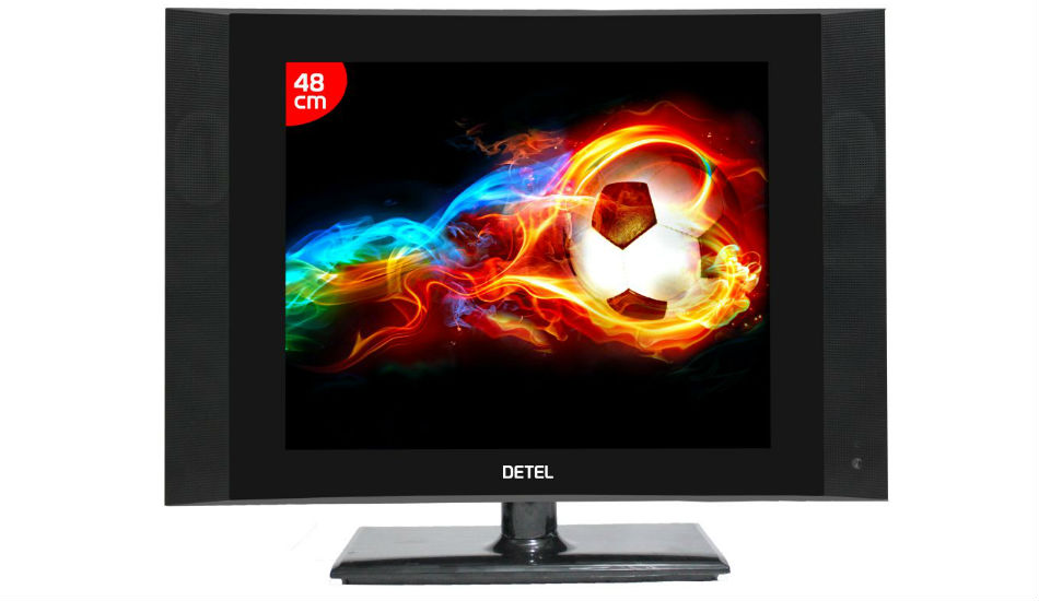 Detel launches 19-inch LCD TV in India at just Rs 3,999