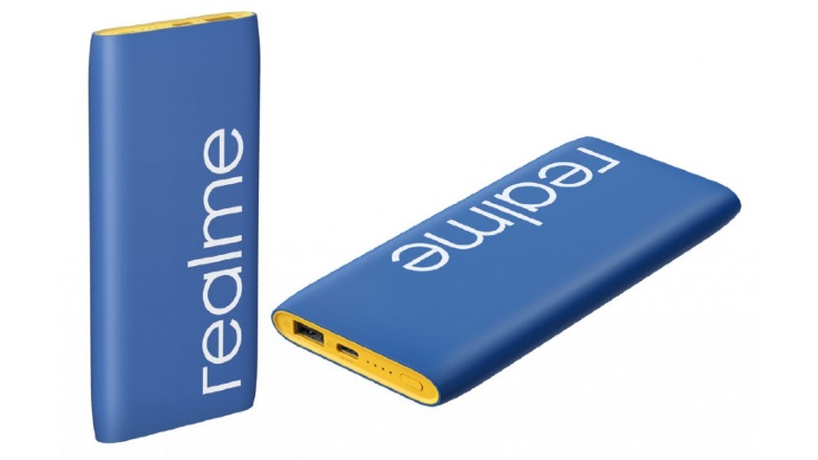 Realme 10,000mAh Classic Blue power bank, Buds Air Iconic cover price revealed