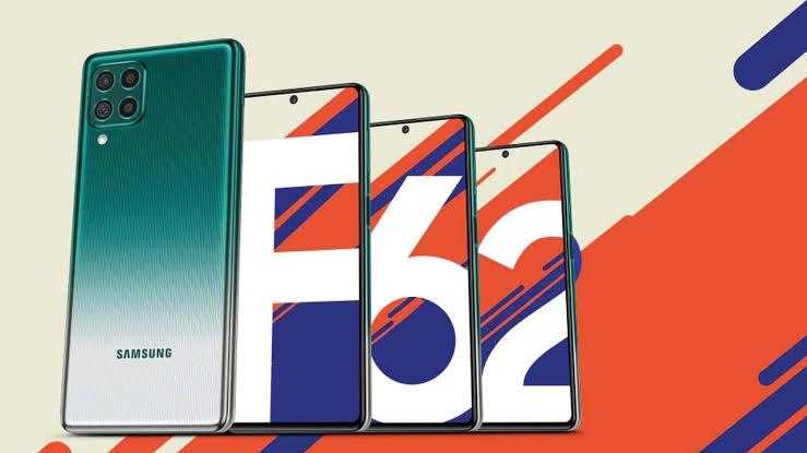 Samsung Galaxy F62 gets a discount