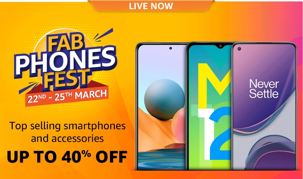 Amazon Fab Phones Fest: Offers and discounts on OnePlus 8 Pro, Redmi 9 Prime and more
