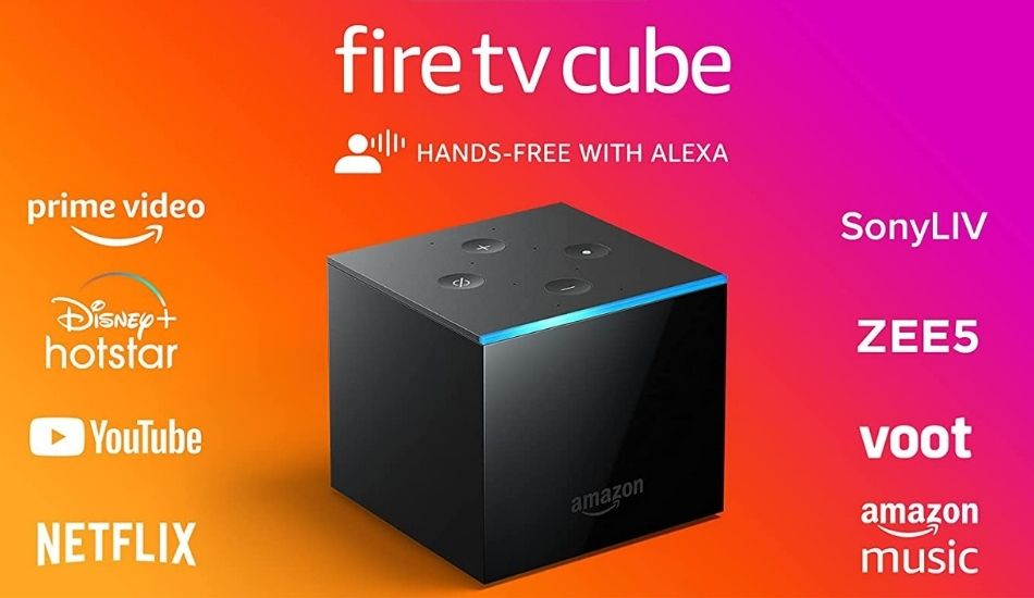 Amazon launches Fire TV Cube (2nd Gen) in India