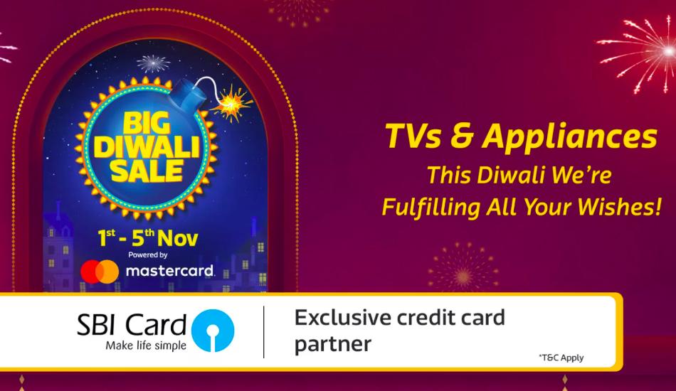 Flipkart Big Diwali Sale scheduled for November 1 - 5