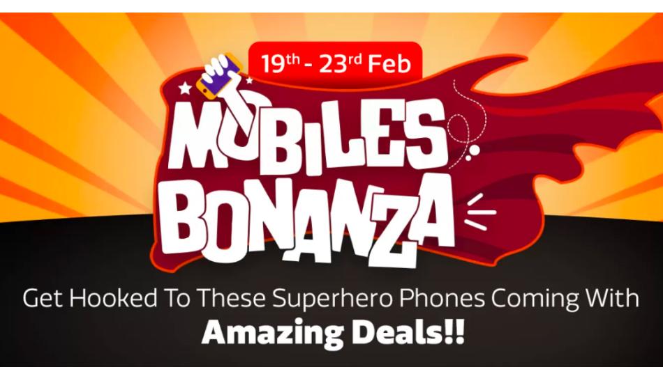 Flipkart Mobiles Bonanza Sale will happen during February 19 - 23