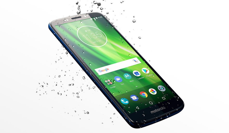 Moto G6, G6 Play to launch in India soon