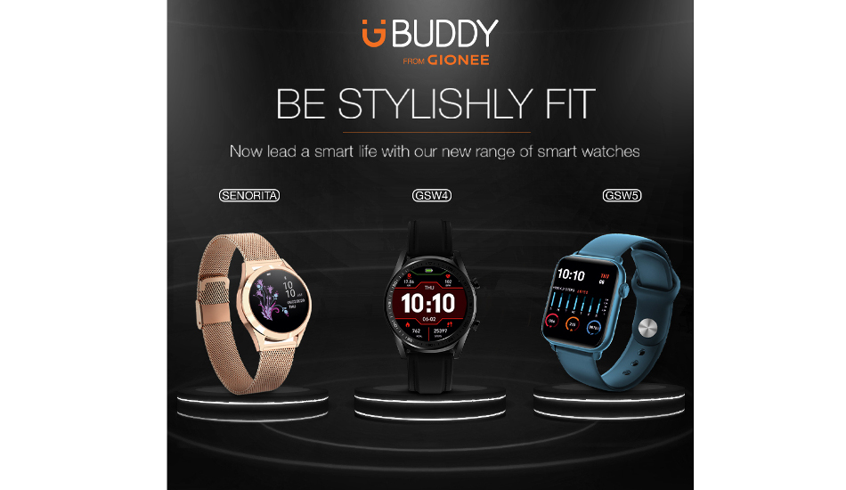 Gionee Smart Life Watches launched at a starting price of Rs 2,499