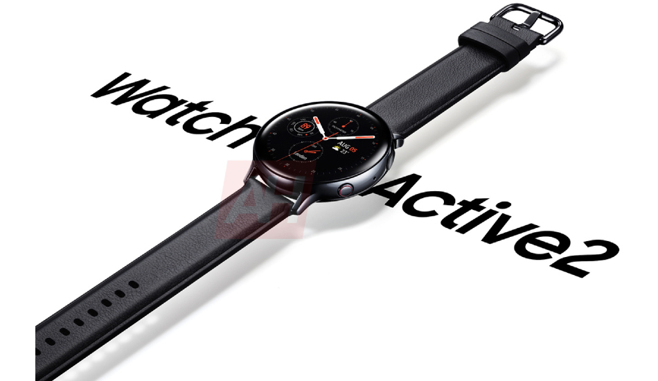 Samsung Galaxy Watch Active 2 render leaks out