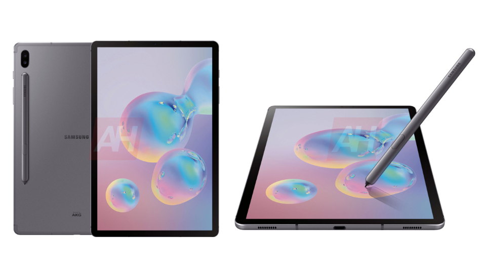 Samsung Galaxy Tab S6 renders reveal dual cameras, S-Pen groove