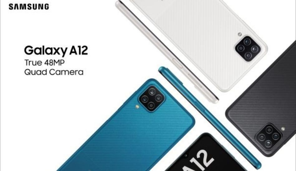 Samsung Galaxy A12 launched in India with 48MP quad cameras, starting at Rs 12,999