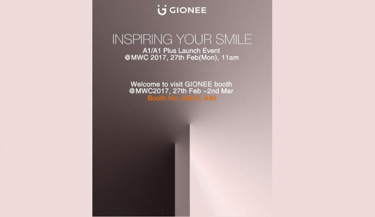 Gionee A1 now spotted on Geekbench, to be unveiled at MWC 2017 along with Gionee A1 Plus