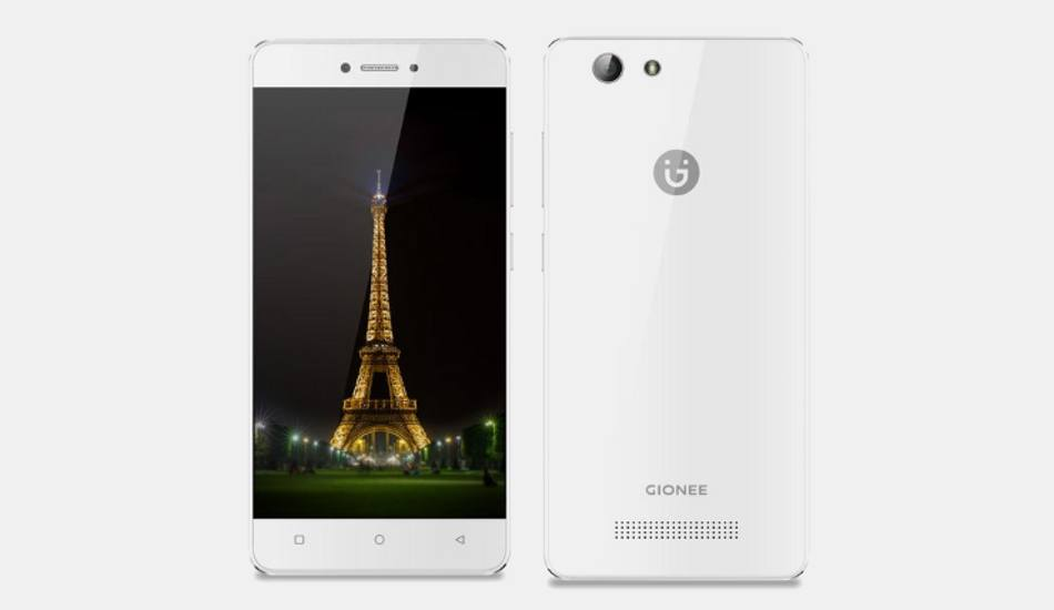 Gionee F100, F103B, S5 with 4G VoLTE support launched, priced Rs 6,131 onwards