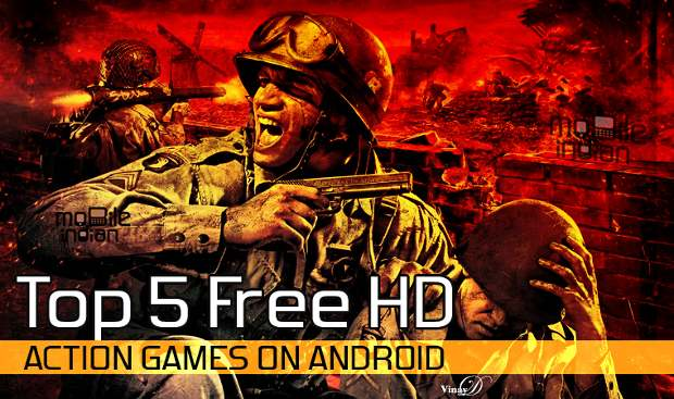 Top 5 free HD action games on Android