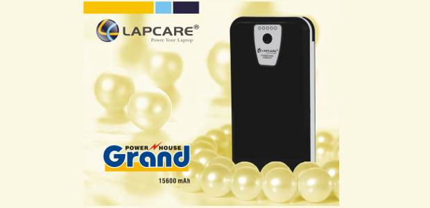 Lapcare launches power bank with 15600 mAh battery