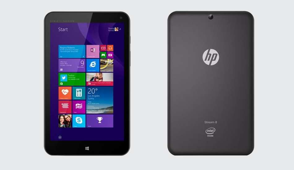 HP Stream 8 3G Windows tablet launched for Rs 16,990