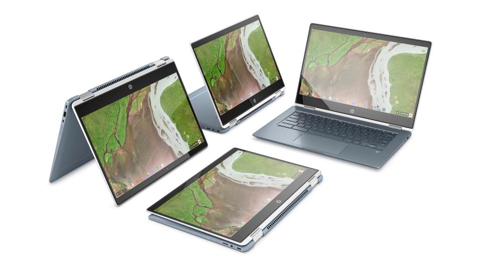 HP Chromebook x360 12b, x360 14b announced