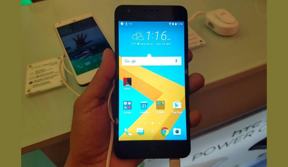 HTC Desire 825 in pics