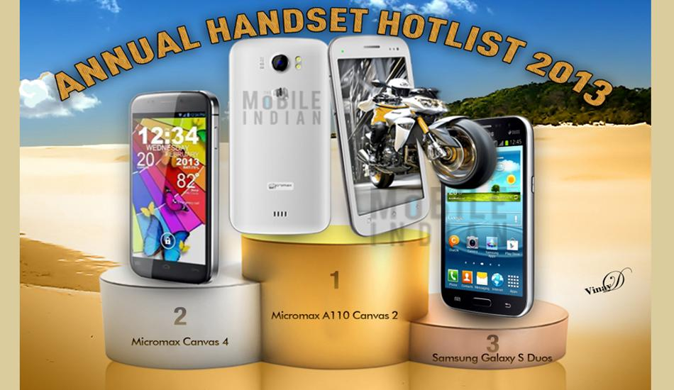 Micromax A110 Canvas 2 the show stopper of 2013: The Mobile Indian Survey