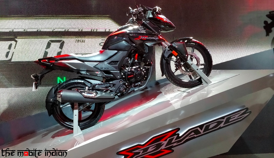 Honda XBlade launched in India at Rs 78,500