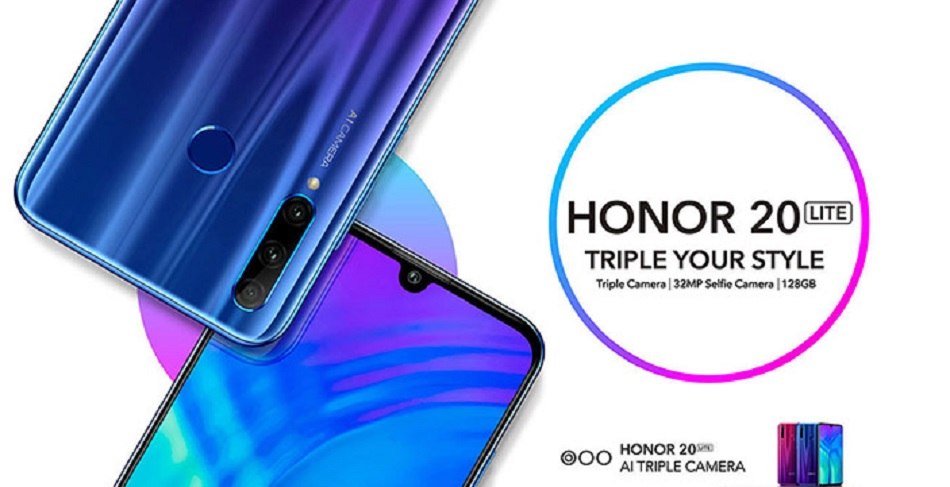Honor 20 Lite price and variants leaked ahead of launch