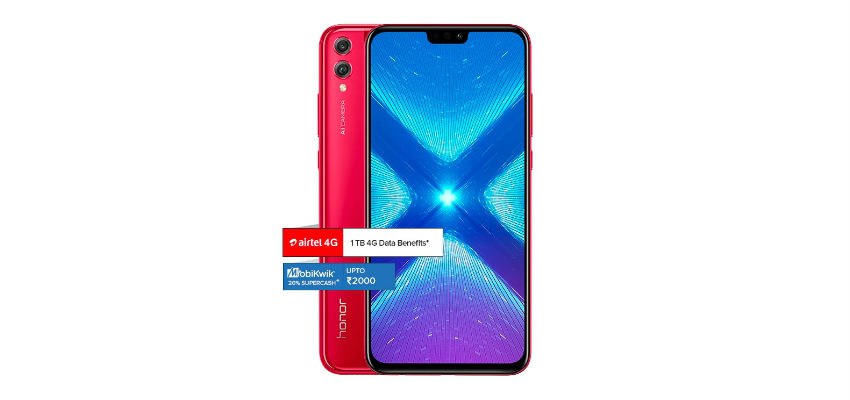 Honor 8X red variant to be available for sale on November 28